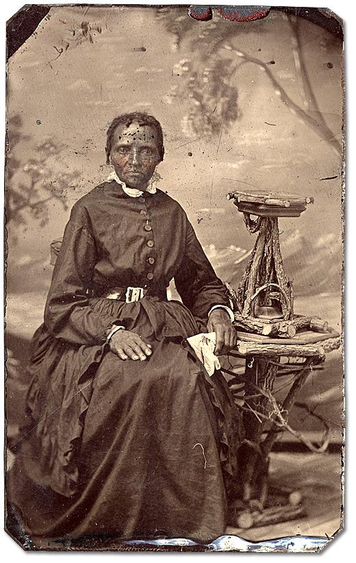 photo of a black woman