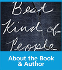 book cover of best kind of people with text about the book and author at the bottom