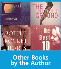 a collage of book covers with text books by the author