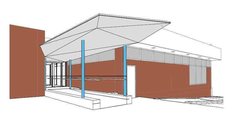 Architect rendition of Dundas