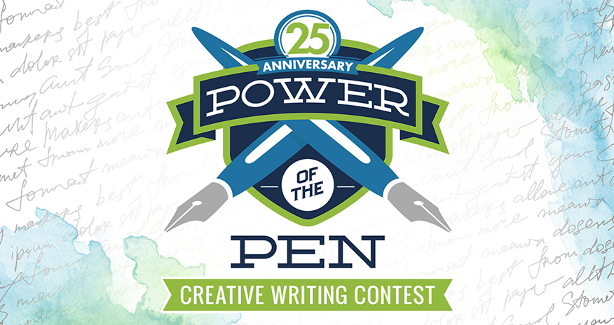 Logo of Power of the Pen 25 years