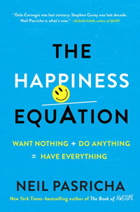 cover of The Happiness Equation by Neil Pasricha