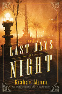 cover of The Last Days of Night by Graham Moore
