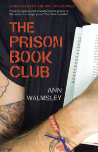 cover of The Prison Book Club by Ann Walmsley