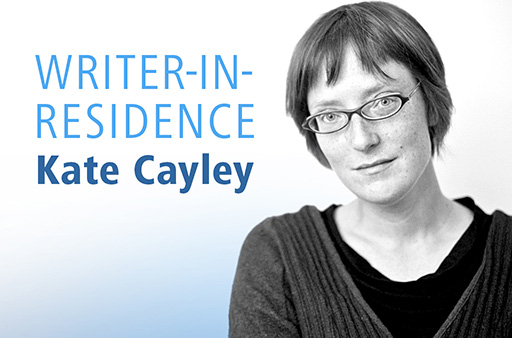 photo of author Kate Cayley