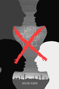 cover of When Morning Comes with cross and grey