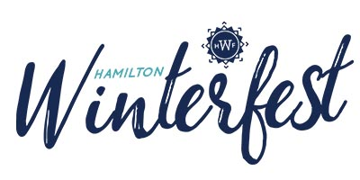 Hamilton Winterfest logo with text Hamilton Winterfest