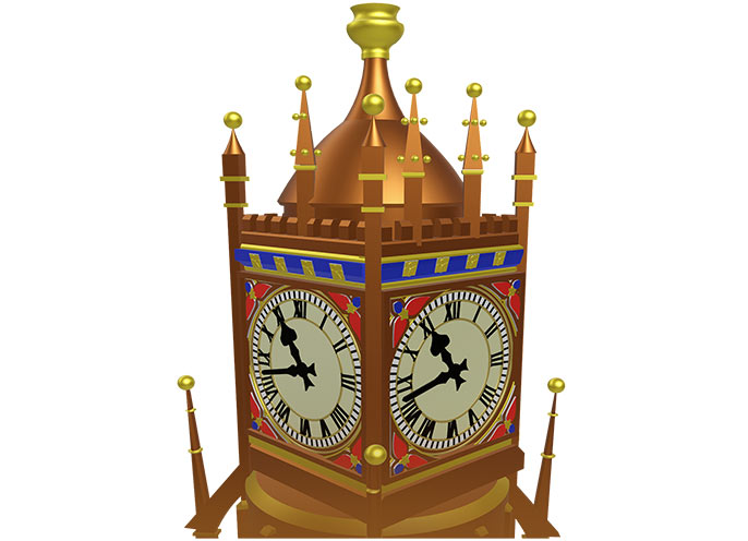 Birks Clock Icon