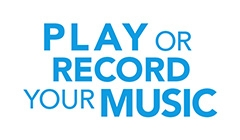Play or record your music