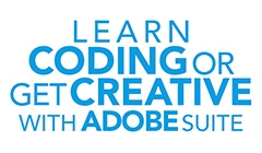 Learn coding or get creative with Adobe suite