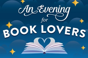 Evening for Book Lovers logo
