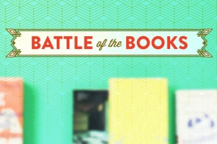 banner with text battle of the books