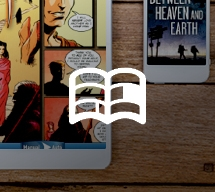 eReaders with a book icon overlay