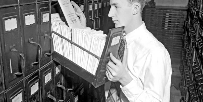 Registry Office, 1955