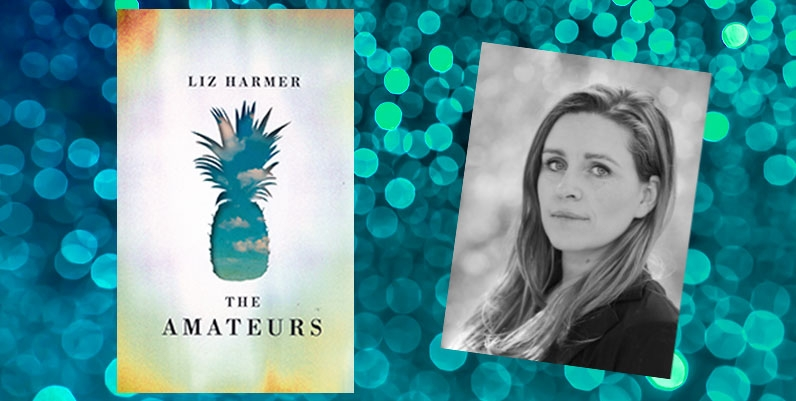 book cover of The Amateurs and author Liz Harmer