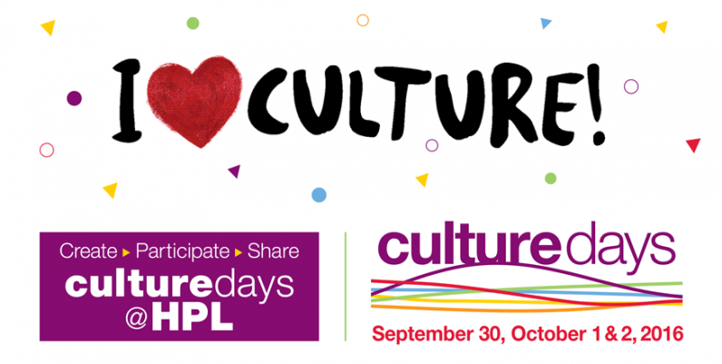 Culture Days at Hamilton Public Library