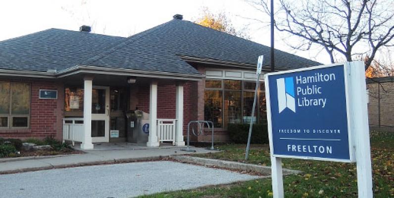photo of freelton branch of hamilton public library