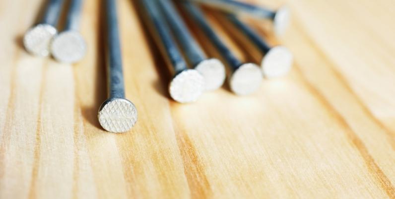 Closeup of nails