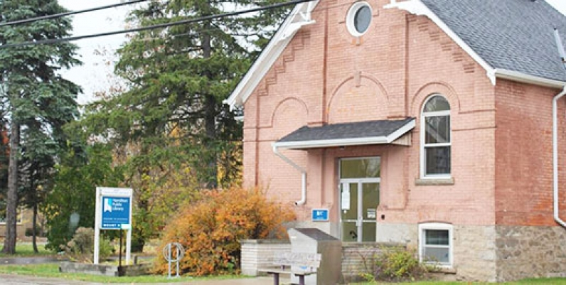 photo of mount hope branch of hamilton public library