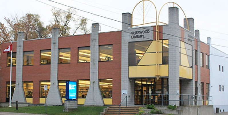 photo of sherwood branch of hamilton public library