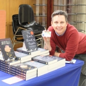 Bryan Prince table at the meet the author
