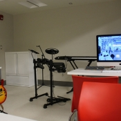 a look in the new Sound Studio of the Dundas Makerspace