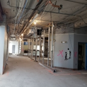 Valley park branch construction inside pictured