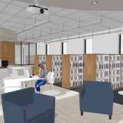 Inside the new Carlisle branch