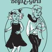cover of the book Middle aged boys and girls
