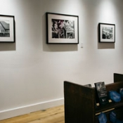 photo of the inside of an art gallery