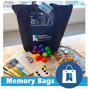 Hamilton Public Library Memory Bags