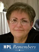 HPL Remembers board member Vikki Cecchetto