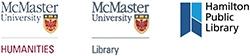 McMaster University and Hamilton Public Library logos
