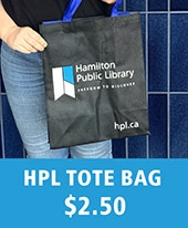 HPL tote bag with logo