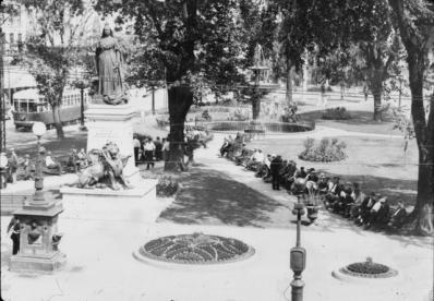 Gore Park, 1920s