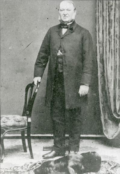 Mayor Henry McKinstry (ca1805-1871). Mayor 1859-1861