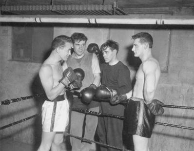 Boxing at St. Mary's Boxing Club, April 7, 1959
