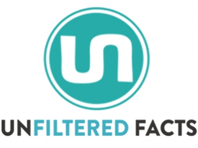 logo of unfiltered facts