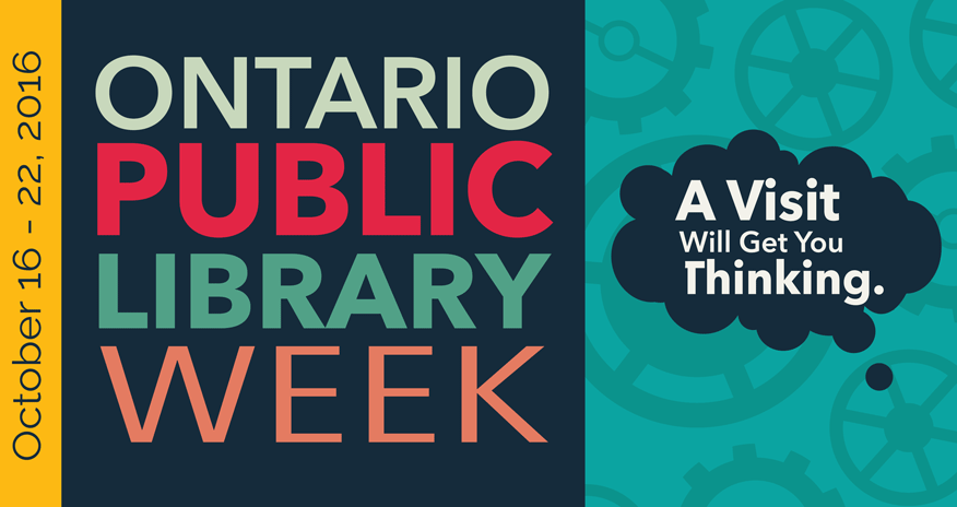 text ontario public library week a visti will get you thinking