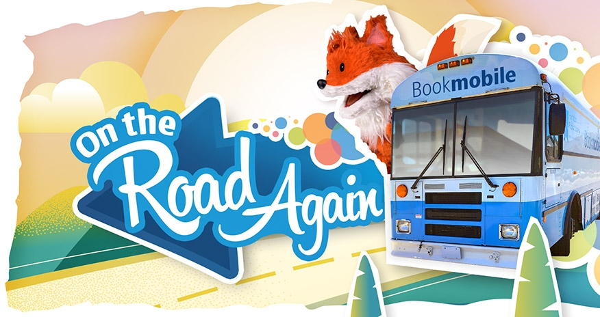 The HPL Bookmobile is on the road again, starting September 22
