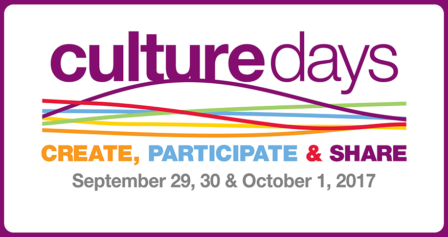 Text Culture Days Create Participate and Share