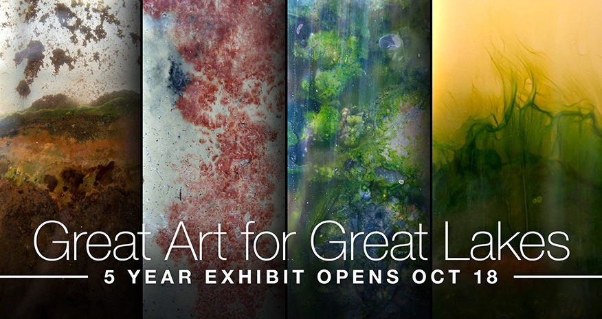 colalge of art works with tect Great Art for Great Lakes