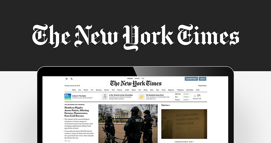 The New York Times online free 72 hour subscription