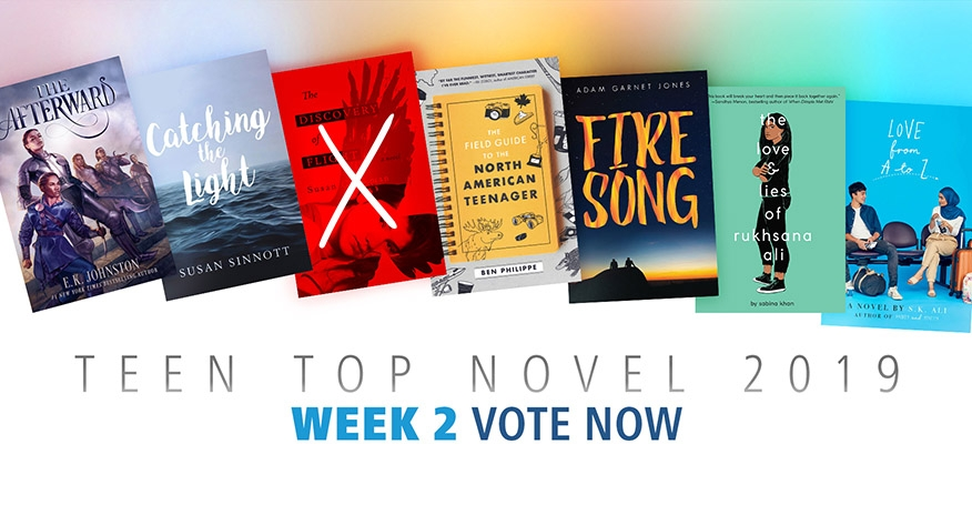 Teen Top Novel 2019 Week 2. Vote now!