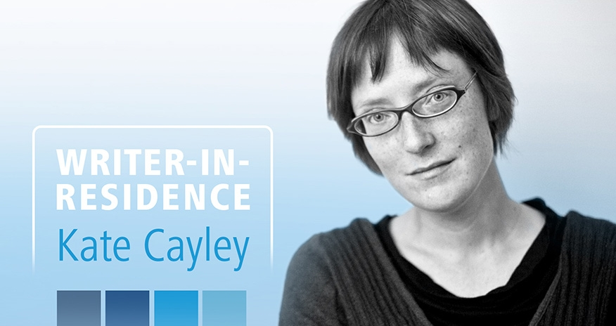 photo of writer Kate Cayley