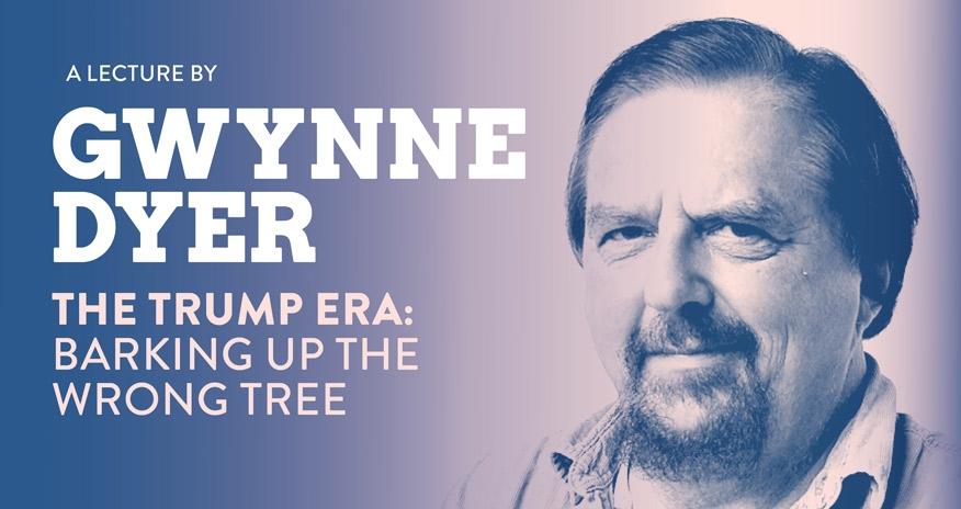 headshot of Gywnne Dyer