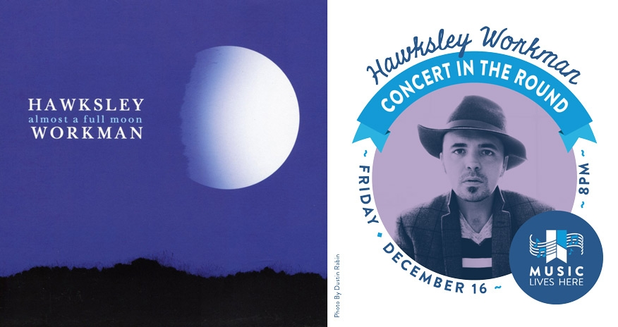 cover of album almost a full moon by hawksley workman