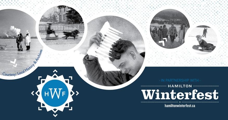 historic photos of winter in Hamilton